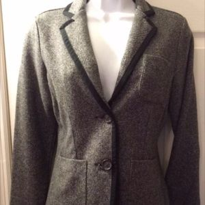 Lands End Blazer Riding Style Jacket 12 NWOT